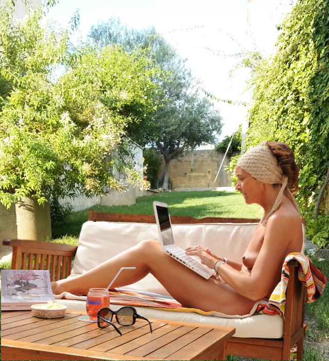 ospite nudista - nudist in Sicily - sicilie naakt slapen